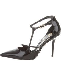 Roger Vivier - Pointed-toe Leather Pumps - Lyst