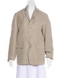 Pas De Calais - Lightweight Button-up Jacket Beige - Lyst