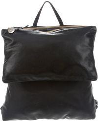 Clare V. - Agnes Leather Backpack Black - Lyst