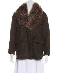 Smythe - Wool-blend Coat - Lyst