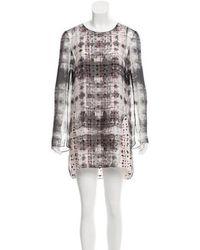 Theyskens' Theory - Layered Mini Dress - Lyst