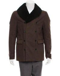 3.1 Phillip Lim - Woven Zip-up Jacket Olive - Lyst