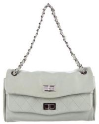 df3d782b9ef8 Chanel - Double Mademoiselle Lock Flap Bag Mint - Lyst