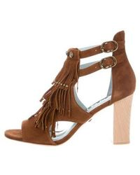 DANNIJO - Quin Fringe Sandals W/ Tags - Lyst