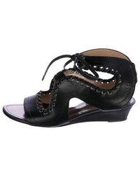 Proenza Schouler - Leather Lace-up Sandals - Lyst