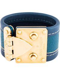 Louis Vuitton - Suhali Wrap Bracelet Gold - Lyst