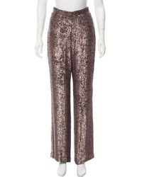 Rodarte - Sequined High-rise Pants - Lyst