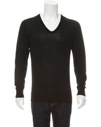 Louis Vuitton - V-neck Knit Sweater - Lyst