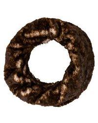 Adrienne Landau - Faux Fur Infinity Scarf W/ Tags - Lyst