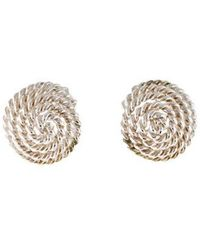 Tiffany & Co. - Coiled Rope Clip-on Earrings Silver - Lyst