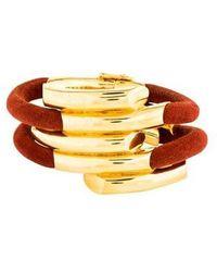 Maiyet - Empire 5 Wrap Bracelet Gold - Lyst