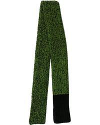 CALVIN KLEIN 205W39NYC - Virgin Wool Pattern Scarf - Lyst