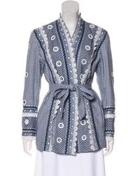 Dodo Bar Or - Embroidered Velvet Jacket - Lyst