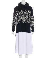 Diane von Furstenberg - Abstract Print Sweater - Lyst
