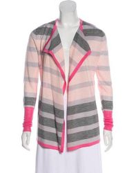Clements Ribeiro - Wool-blend Knit Cardigan Pink - Lyst