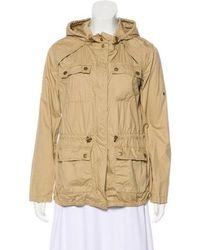 MICHAEL Michael Kors - Michael Kors Lightweight Hooded Jacket Khaki - Lyst
