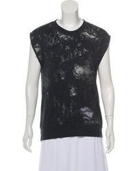 IRO - Patterned Knitted Sweatshirt - Lyst