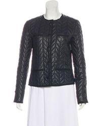 Day Birger et Mikkelsen - Quilted Leather Jacket - Lyst