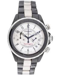 Chanel - J12 Superleggera Watch - Lyst