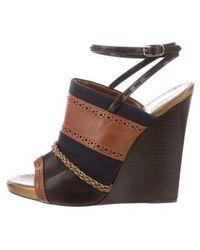 Proenza Schouler - Slingback Wedge Sandals - Lyst