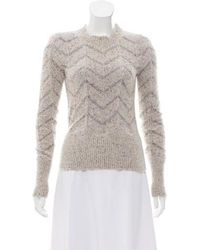 Isabel Marant - Alpaca-blend Sweater Beige - Lyst