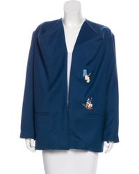 Bernhard Willhelm - Embroidered Jacket - Lyst