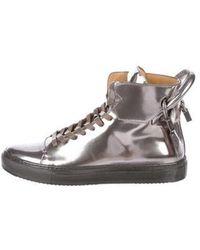 Buscemi - 125mm Metallic Sneakers W/ Tags - Lyst