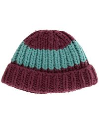 Marc Jacobs - Wool Rib Knit Beanie - Lyst
