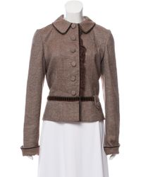 Luisa Beccaria - Ruffle-trimmed Jacket - Lyst