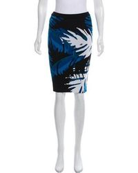 Timo Weiland - Patterned Knee-length Skirt - Lyst