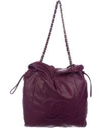 Chanel - Bon Tote Purple - Lyst