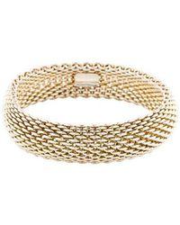 Tiffany & Co. - Somerset Bracelet Silver - Lyst