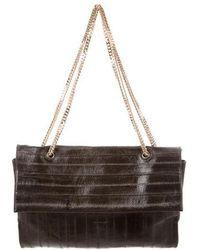 Nina Ricci - Eel Skin Shoulder Bag Gold - Lyst