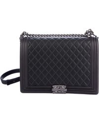 bfbfa27cf330 Lyst - Chanel Large Quilted Boy Bag Gold in Metallic