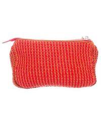 Rachel Comey - Rubix Crocheted Clutch Red - Lyst