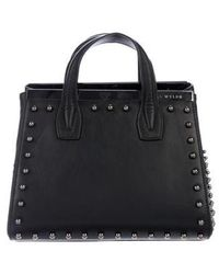 Thomas Wylde - Studded Leather Satchel - Lyst