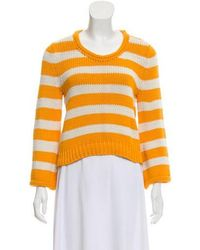 Chris Benz - Striped Knit Sweater - Lyst