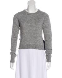 Gryphon - Wool & Mohair-blend Sweater Grey - Lyst