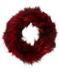 Adrienne Landau - Fox Fur Snood - Lyst