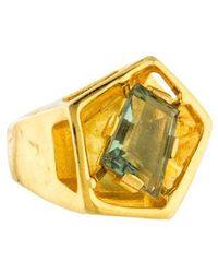 Alexis Bittar - Modern Georgian Ring Gold - Lyst