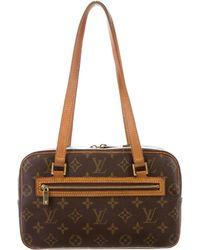 Louis Vuitton - Monogram Cité Mm Brown - Lyst