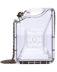 Chanel - Dubai By Night Gas Can Minaudière Clear - Lyst