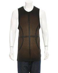 Givenchy - Basketball Print Sleeveless T-shirt W/ Tags - Lyst