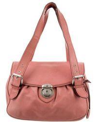 Marc Jacobs - Leather Shoulder Bag Pink - Lyst
