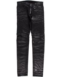 Balmain - Coated Slim Fit Jeans W/ Tags - Lyst