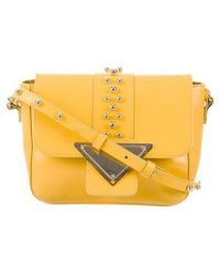 Sara Battaglia - Lucy Crossbody Bag Yellow - Lyst