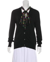 Libertine - Embellished Button-up Cardigan - Lyst