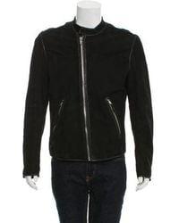 BLK DNM - Suede Raw Seam Jacket - Lyst