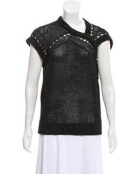 VPL - Sleeveless Knit Sweater - Lyst