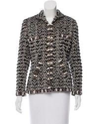 Chanel - Paris-bombay Tweed Jacket Black - Lyst
